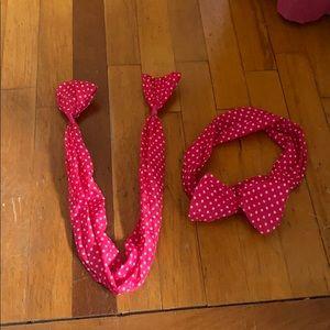 Wrap bow headbands
